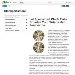 Clockpartsstore
