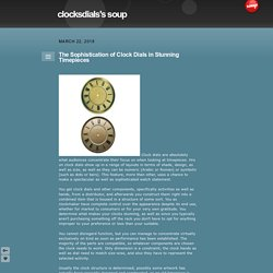clocksdials's soup