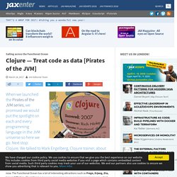 Clojure — Treat code as data [Pirates of the JVM]