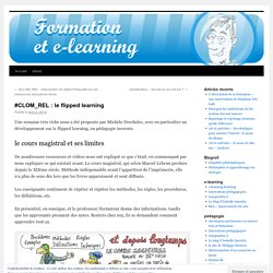 #CLOM_REL : le flipped learning