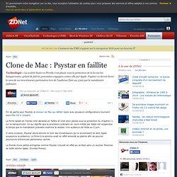 Clone de Mac : Psystar en faillite