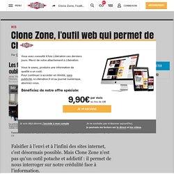 Clone Zone, l'outil web qui permet de créer des faux sites à l'infini
