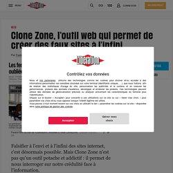 Fake_news_ Clone Zone, l'outil web créer des faux sites
