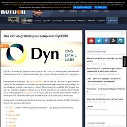 Des clones gratuits pour remplacer DynDNS