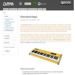 Clonewheel Organ