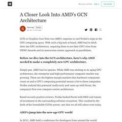 A Closer Look Into AMD's GCN Architecture - Gpumag - Medium