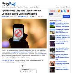 Apple Moves One Step Closer Toward Location-Based Camera Disabling