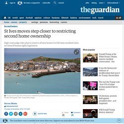 St Ives moves step closer to restricting second home ownership