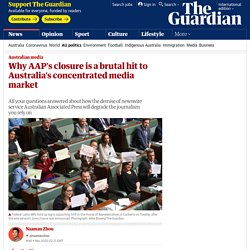 Why AAP's closure is a brutal hit to Australia's concentrated media market