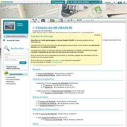 Clotaire Ier DE FRANCIE - ROI des FRANCS et de SOISSONS