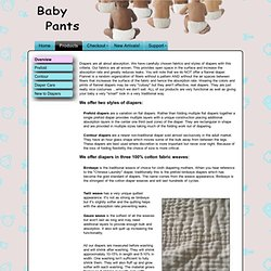 Cloth Diapers for Adults