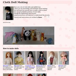 Cloth Doll Making by Runo Dollmaker