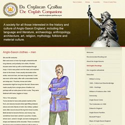 Anglo-Saxon clothes - men