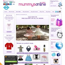 Online Baby clothes | Funky baby clothes | Unusual baby gifts