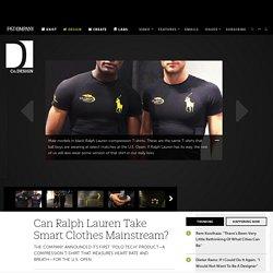 Can Ralph Lauren Take Smart Clothes Mainstream?
