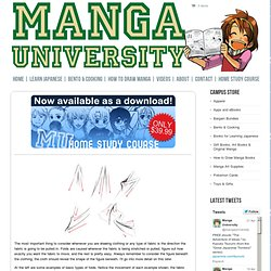 How to Draw Manga -- Manga University How to Draw: Tutorials