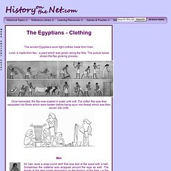 Clothing - Ancient Egypt