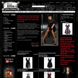 Twice Bitten Online Clothing Boutique- Brand new and vintage funky women's clothing