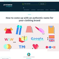 Clothing Brand Name Ideas: The Infographic