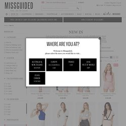 Missguided | New-In Women's Clothing | Fashion Online