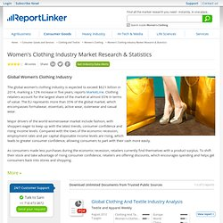 Women's Clothing Industry Market Research & Statistics