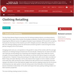 Clothing Retailing
