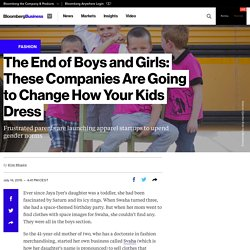 Gender Neutral Kids Clothing Startups