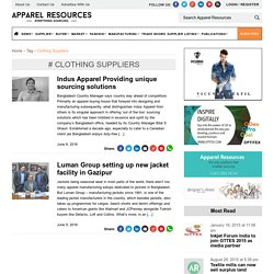 Clothing Suppliers Archives