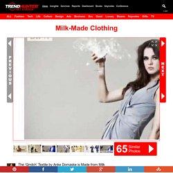 Milk-Made Clothing : qmilch textile by anke damaske