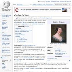 Clotilde de Vaux