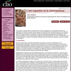 Jean Clottes, L'art rupestre et le chamanisme