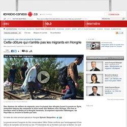 Cette clôture qui n'arrête pas les migrants en Hongrie