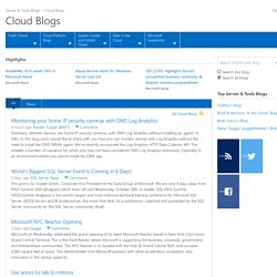 Cloud Blogs