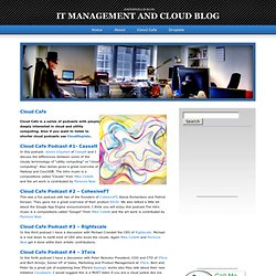 Cloud Cafe | IT Management and Cloud Blog