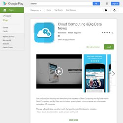 Cloud Computing &Big Data News