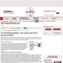 Le Cloud Computing : une arme anti-crise pour les PME