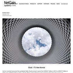 Cloud : IT's New Normal -