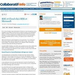 RSE et Cloud chez IBM et Microsoft
