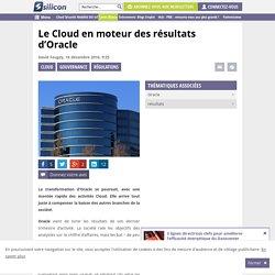 Le Cloud en moteur des résultats d'Oracle