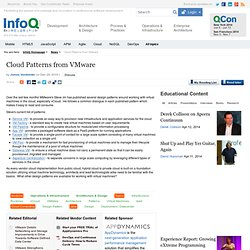 Cloud Patterns from VMware