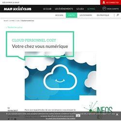 Cloud personnel Cozy - MAIF SOCIAL CLUB