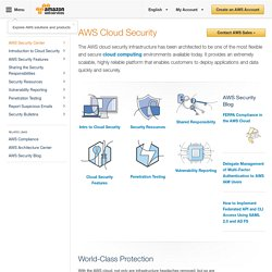 AWS Security Center
