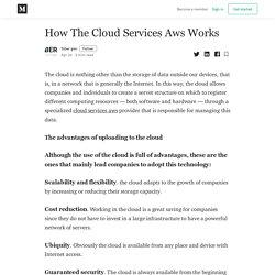 How The Cloud Services Aws Works - Siber gen - Medium