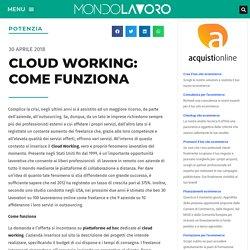 Cloud Working