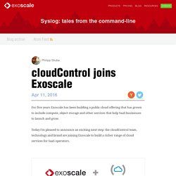 cloudControl » Cloud hosting platform