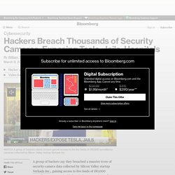 Tesla (TSLA), Cloudfare (NET) Breached in Verkada Security Camera Hack