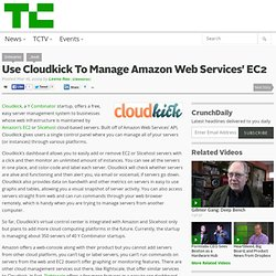 Manage Amazon EC2