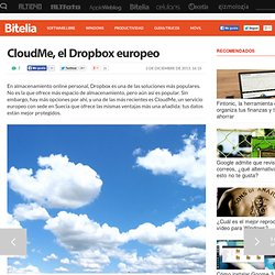 CloudMe, una alternativa a Dropbox con sede europea