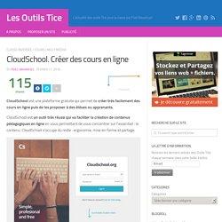 CloudSchool. Créer des cours en ligne