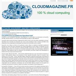CloudVPS lance sa plateforme OpenStack IaaS